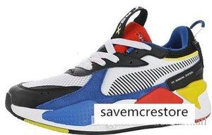 Hommes avec la boîte RS-X Jouets Chaussures de course pour sortie Hommes Chaussures Homme Sneaker Femmes de jogging Femmes sport féminin Formateurs Garçons Chaussures Fille