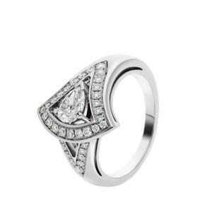 Femmes Bague S925 Sterling Sterling Plaqué Diamant Anneaux Femmes Anneau Engagement Party Anneau Meilleur cadeau pour femmes