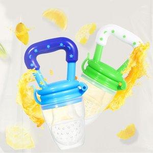 1Pc Food Grade Früchte Nippel Beißring BPA frei Silikon Babys Beißringe Schnuller-Ketten-Anhänger Sicherheit Babys Reborn Anderes Spielzeug Dentitionspielzeug