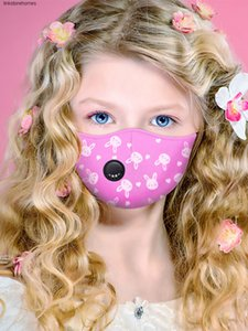 Children's Mask Girls Anti-haze Princess Cute Children Primary School Students Special Cotton Windproof And Dustproof Breathable