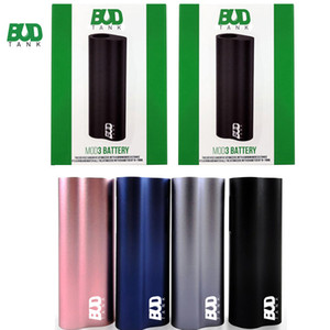 Original Budtank Mod3 Bateria Palma Mod 510 Tópico Vape Pen Bateria 390mAh Auto Desenhar Vaporizador Pen Mod Bateria USB Micro E Cigarros Mods