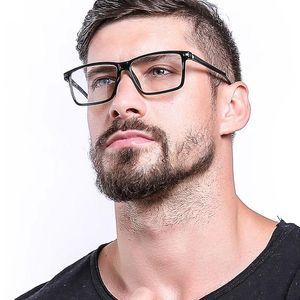 Gözlük Erkekler Bilgisayar Cep Telefonu Anti-Mavi Işık Gözlükler Moda Optik Gözlük Çerçevesi RX342 Engelleme TR90 Mavi Işık