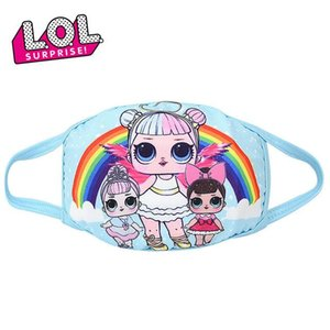 new Kids LOL Surprise Doll Face Masks Adult and Children Cosplay Masks Dustproof Breathable Anti-haze Mask Cartoon Masks Protect Health