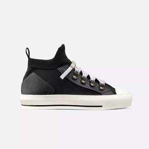 Yeni 2019 kadın moda orta üst SNEAKERS b23 TEKNİK ÖRGÜ OBLIQUE MID-TOP SNEAKER kızlar ayakkabı nedensel