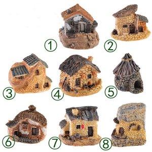 Новые стили 1шт микро-коттедж пейзаж украшение для DIY кораблей Смолаы каменный дом Фея сад миниатюрный ремесло