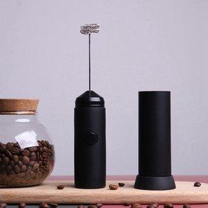 Nueva portátil de acero inoxidable batidor de huevo Café Leche vaporizador eléctrico con pilas del mezclador Herramientas de cocina portátil Stiring HHA1426