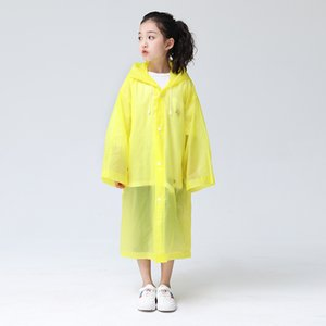 reusable raincoats boys and girls universal cartoon students with raincoats children's raincoats essential for outdoor travel T3I5801