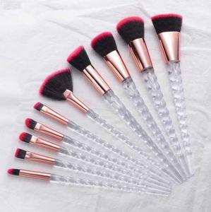 Makeup Brushes 10 Pieces Makeup Brush Set Premium Face Eyeliner Blush Contour Foundation Cosmetic Brushes for Powder Liquid Cream