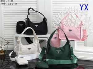 Women Fanny Pack 2-pieces Brand Shoulder Bag Designer Waist Bags Outdoor Luxury Cross Body Brand Handbags Message Bags 2020847K