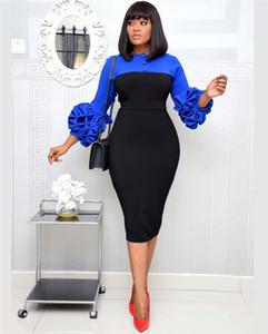 Tasarımcı BODYCON Elbise Yaz Kasetli Seksi Kalem Elbiseler Kadınlar Fermuar Bölümü Düğmesi Orta Buzağı Giyim Womens