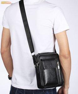 2020 hommes Sac Nouveau Mode Sacs à bandoulière Vintage d'affaires HighQuality Puleather Homme d'affaires Messengerbag Corssbody Sacs
