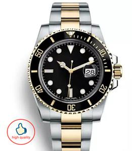 Üst Seramik Çerçeve Erkek Mekanik Paslanmaz Çelik Otomatik marka İzle montres de luxe tasarımcı İzle erkekler İzle orologio da uomo