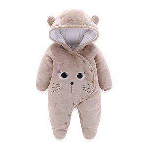 orangemom oficial bebê loja recém-nascido roupas de lã jumpsuit bebê macio menina roupas Neve Coats para bebês casaco branco quente