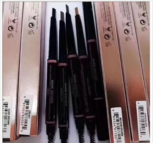 Make-up Augenbrauenstift Enhancers Free Cutting automatisch Spirale dünne Brow Bleistift Gold-Double Ended mit Augenbrauen Pinsel