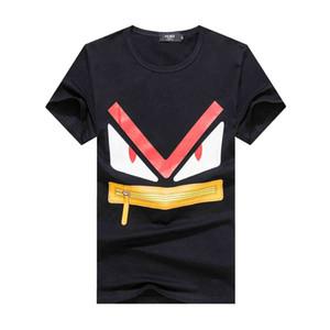 2020 новый стиль вышивка дизайнер мужская футболка повседневная улица молодежь человек мода улица свободные спортивные пары ЕС размер Винтаж футболки
