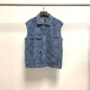 vests Designer Jacket vest Letter three dimensional Big Pocket Vest coat top for men women zdl0602