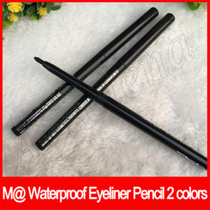 EyeLip лайнер Kajal M @ Макияж глаз Eyeliner Pencil Автоматический вращающийся карандаш для бровей водонепроницаемый черный / коричневый 2 цвета
