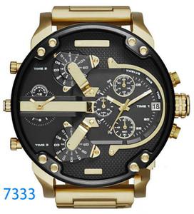 marchio di orologi di lusso Sport militare montres mens nuovo originale reloj grande quadrante display diesels orologi dz watch dz7331 DZ7312 DZ7315 DZ7333