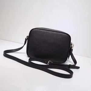 2019 neuesten Stil Handtasche Leder Umhängetasche Name Marke Handtaschen 100% Echtes Leder Geldbörse Berühmte Marke Handtasche SOHO Tasche Freies Verschiffen