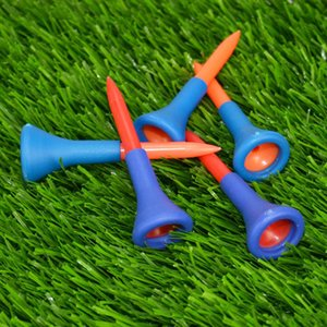 2 Pieces High-quality Golf Tee Holder Plus 8 Pieces Wooden Golf Tees Combo