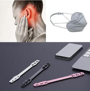 Бесплатная доставка маска ремешок Extender Anti-затягивая маска держатель Hook ремень уха Захваты Удлинитель маска Пряжка Боль в ушах
