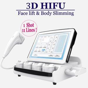Medical Grade Hifu Facelift High Intensity Focused Ultrasound HIFU SMAS Lifting Anti invecchiamento della pelle Cura della macchina 11 linee