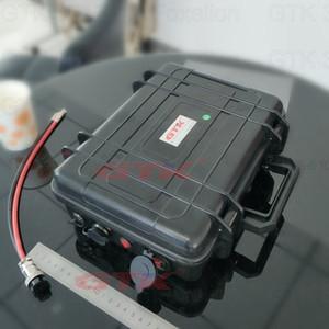 12V 100AH luz solar, Golf Car UPS Lithium ion Battery Pack com o carregador