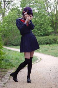 Lacivert JK üniforma Sonbahar Yaz Kısa / Kız Sailor Pileli Etek JK için uzun Kol Japon Okul Kıyafetleri Uniform ayarlar