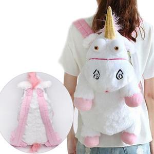 Yeni 2019 Sevimli Peluş Oyuncaklar Tasarımcı Kadın Çantası Sırt Çantaları Kız Çocuklar Doğum Günü Hediyesi Okul Çantaları Kadın Bolsa Feminina Mochila Y190627
