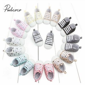 2020 Baby First Walkers Newborn Infant Baby Girl Casual Soft Sole Prewalker Cotton Warm Cartoon Bears Canvas Shoes 0-18M