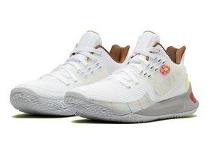Kyries bajos 2 niños mejillas de arena caliente de la venta con la caja nueva 5 hombres mujeres niños Baloncesto tienda de zapatos size36-46
