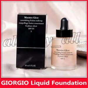 Известные торговые марки GIORGIO Жидкая Основа Maestro фьюжн макияж макияж фьюжн SPF15 30ml 3 цвета с DHL Бесплатная доставка
