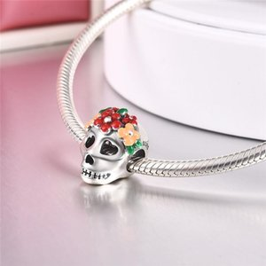 DALARAN Halloween Charms Sterling Silver 925 Ghost Pumpkin Bead Fit Original Pandora Charm Bracelet & Necklace Women DIY Jewelry