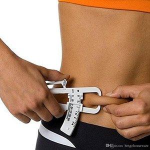 Оптовая Тонкий Диаграмма кожной складки тест Instrumen Личный Body Fat Loss Tester Калькулятор суппорт Фитнес клип жира Измерение инструмента BH0889 такой анкеты