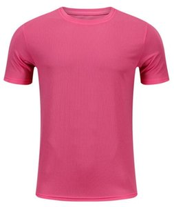 2019 men's tight clothes running short-sleeved quick-drying T-shirt 1107