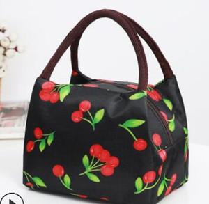 entrega gratuita Bento bolsa de momia impermeable bolso femenino bolsa de almuerzo bolso 02