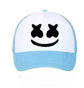 DHL Summer cute Mesh Baseball Cap for women men couple sun hat Trucker Snapback outdoor Caps nx