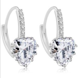 Kalp Earrings köse Scott moda kadın takı Clip-Vida Geri net tasarımcı küpe des Boucles d'oreilles