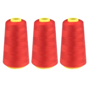 Color Polyester Sewing Durable 3PC 2300 Leard Overlocking Sewing Machine Line Industrial Thread Meter Metres #N3