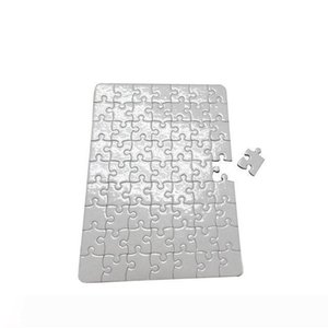 B blank Jigsaw puzzle paper for DIY Heat transfer printing puzzle papers A4 size for children DIY White Thermal Transfer Pearlescent