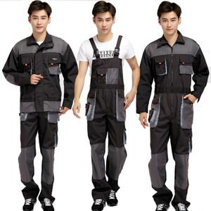 Talla grande Hombres BIB Trabajo Overlaje Masculino Trabajo Use uniformes Moda Herramientas Monos Overoles Trabajador Reparador Strap Strap Sumpsuits