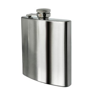 8 oz Stainless Steel Hip Flask Other Dinnerware