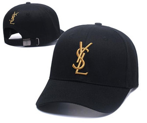 Yüksek kaliteli tasarımcı Kap Erkek Kadın Beyzbol Şapkaları gorras Ayarlanabilir Golf Klasik Kavisli kapaklar Moda snapback kemik Casquette açık baba şapka