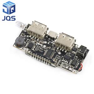 Protección automática! Dual USB de 5V 1A 2.1A de la energía Bank 18650 de litio cargador de batería Digital Board módulo de carga