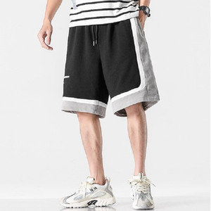 iiDossan 2020 nuevos pantalones de los deportes del algodón hombres de los cortocircuitos Gimnasio de Baloncesto de Verano Deporte cortos aptitud del hombre de Hip Hop Joggers Pantalones cortos para correr