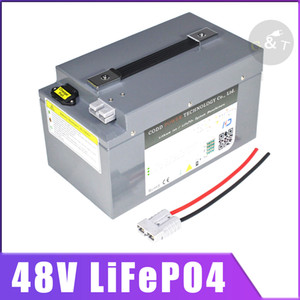 48V 20Ah Lifepo4 48v 40AH LiFePO4 con BMS per 1000w 3000w 4000w scooter bici Golf Cart Solar Energy + Charger