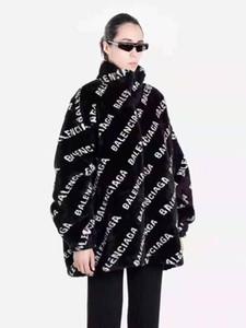 Europa e nos Estados Unidos 19 de outono e inverno nova jacquard gola alta qualidade da moda zipper juba jaqueta de malha fêmea de tiro real