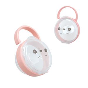 Bebek Katı şeffaf toz suspensible emziği Kutusu Emzik Konteyner Seyahat Saklama Kutusu Güvenli PP Tutucu Ücretsiz Kargo
