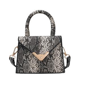 OCARDIAN Serpentine PU Feminino bolsa de ombro da senhora Messenger Bag Designer Bandoleira Sacos Drop Ship 6420