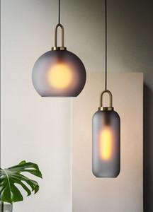 Hierro moderno luces colgantes que cuelgan de la lámpara colgante que viven dormitorio sala de decoración de cristal de la lámpara colgante Comedor colgar las luces LLFA